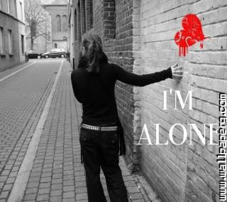 Im alone ,wide,wallpapers,images,pictute,photos