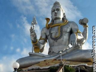 Lord shiva idol