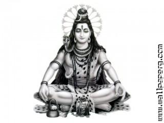 Shiva bw ,wide,wallpapers,images,pictute,photos