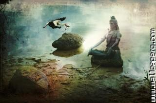Shiva meditating idol ,wide,wallpapers,images,pictute,photos