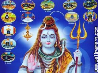 Twelve shivling shiva ,wide,wallpapers,images,pictute,photos