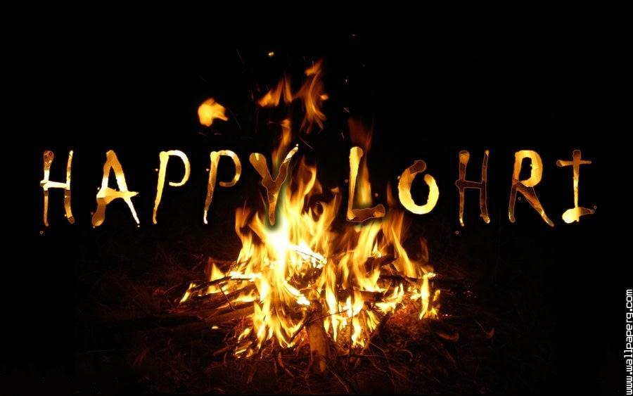 Fire of lohri