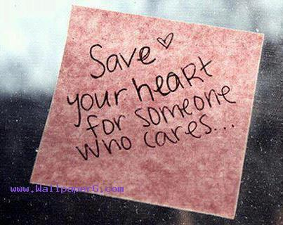 Save you heart