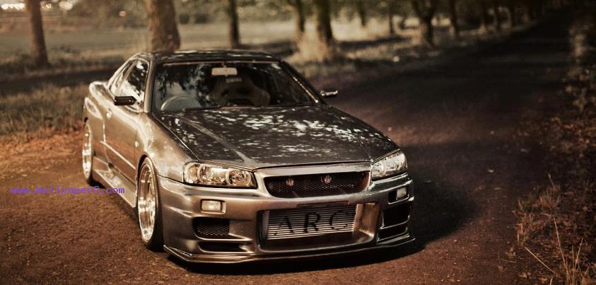 Nissan skyline gt r r34, 2002 ,wide,wallpapers,images,pictute,photos