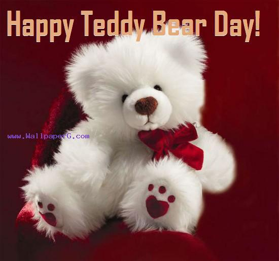 Download Happy Teddy Bear Day Romantic Wallpapers Mobile Version