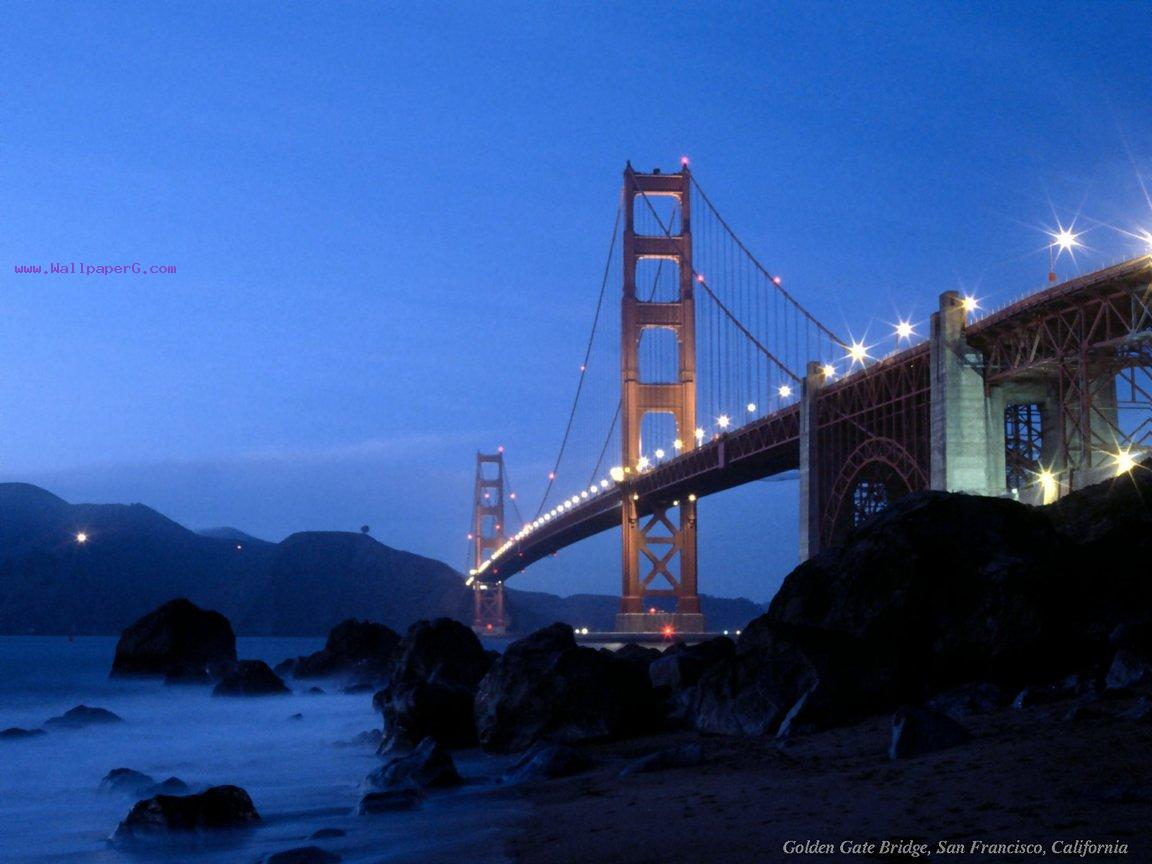 Golden gate bridge  ,wide,wallpapers,images,pictute,photos