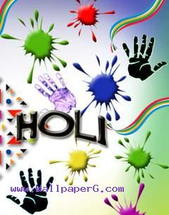 Happy holi to all indians