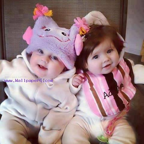 Cute twin babies ,wide,wallpapers,images,pictute,photos