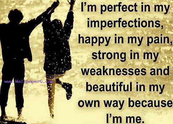 Because i m me