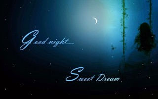 Sad night sweet dream hd wallpaper