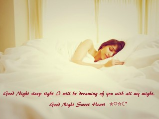 Good night sweet dream wallpaper for girl