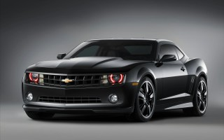 Download Chevrolet Camaro Black Concept 3 Cars Wallpapers Mobile