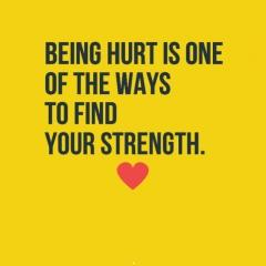 Being hurt is one hurt quotes