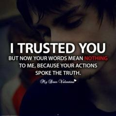 I trusted you hurt quote