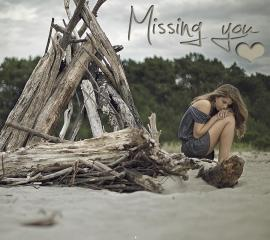 Missing you hd wallpaper for mobile phones