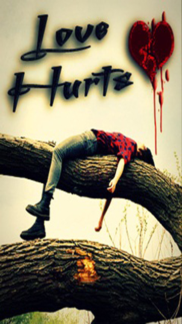 Love hurt wallpaper 1