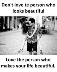 Beautiful love quote