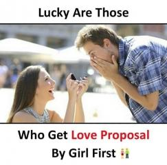 Best love proposal by girl