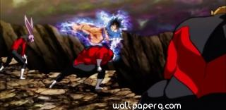 Dragon ball super goku ultra instinct jiren crew fight