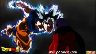Dragon ball super goku ultra instinct vs jiren