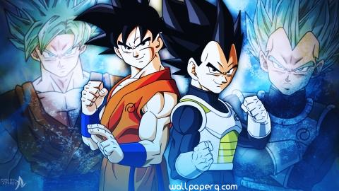 Goku and vegeta dragon ba