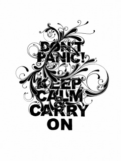 Dont panic ,wide,wallpapers,images,pictute,photos