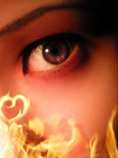 Fire and fire girl ,wide,wallpapers,images,pictute,photos
