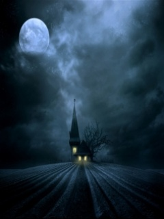 Halloween house ,wide,wallpapers,images,pictute,photos