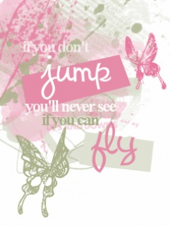 If u jump and fly