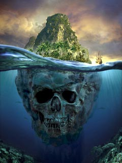 Skull land ,wide,wallpapers,images,pictute,photos