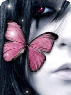Pink emo girl