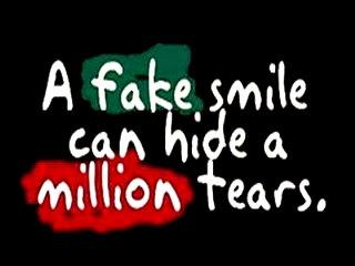 Fake smile 320x240