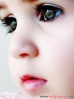 Cute baby eyes