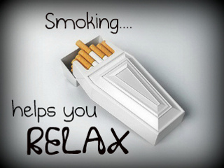 Smoking helps you relax