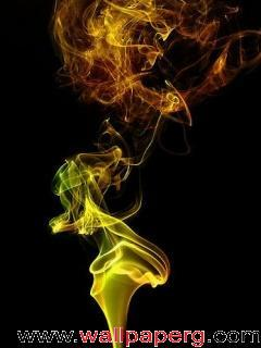 Animated colorful smoke