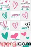 Heart so love in