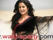 Katrina kaif in black sar
