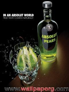 Absolut pears ,wide,wallpapers,images,pictute,photos