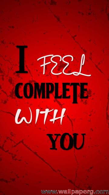 Complete with u