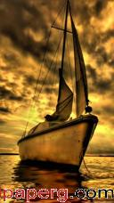 Gold boat ,wide,wallpapers,images,pictute,photos