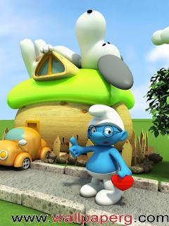 Smurf ,wide,wallpapers,images,pictute,photos
