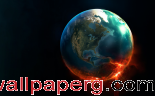 Burning planet ,wide,wallpapers,images,pictute,photos