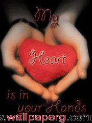 My heart ur hand