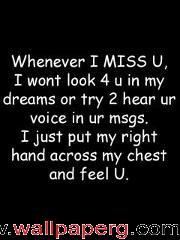 Whenever i miss u