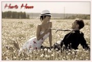 Couples in farm