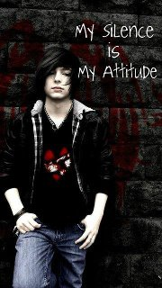 My silence is my attitude ,wide,wallpapers,images,pictute,photos