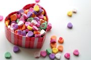 Colourful hearts ,wide,wallpapers,images,pictute,photos
