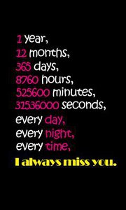 I always miss u