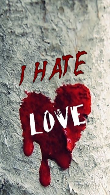Download I hate love - Hurt wallpapers for your mobile cell phone