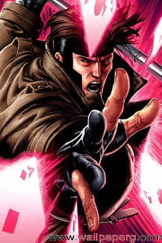 Download Gambit X Men Manga Vs Anime Emotions For Your Mobile Cell Phone